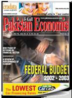 Federal Budget 2002-2003