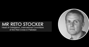 Interview with Mr Reto Stocker, Head of Delegation International Committee of the Red Cross in Pakistan