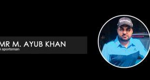 Interview with Mr M. Ayub Khan -- a sportsman