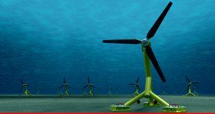 Future in tidal power plants in coastal areas