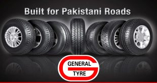 Review of tyre markets and General Tyre and rubber company of Pakistan