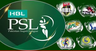 Comparison of PSL with other T20 super leagues