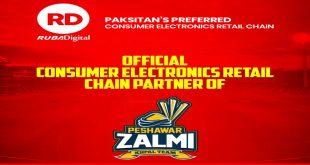 RD: Official Consumer Electronics - Retail chain Partner Of Peshawar Zalmi