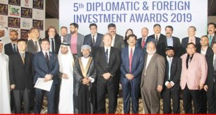 Diplomatic & Foreign Investment Award Ceremony 2019
