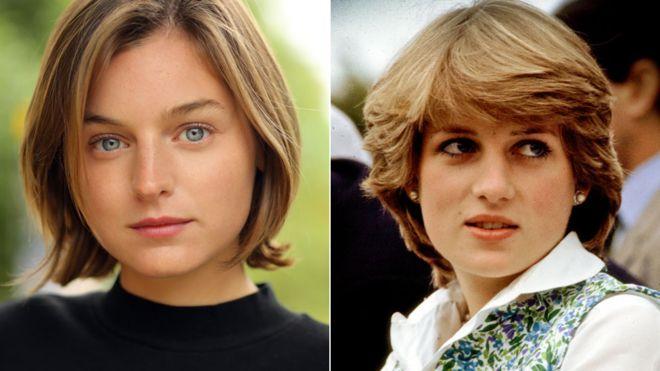 The Crown: Newcomer Emma Corrin cast as Princess Diana