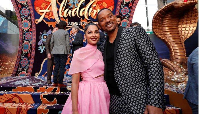 'Aladdin' taking flight with $105 million in North America