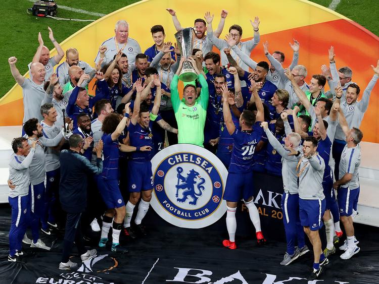 Chelsea thrash Arsenal to win Europa League