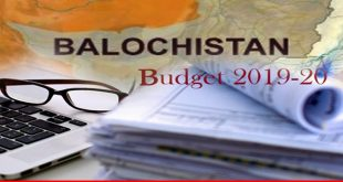 Balochistan's new budget much focused on social sector