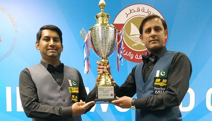 Pakistan beat India to lift IBSF Snooker World Team Cup