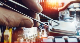 Electronic industry posts growth in first quarter