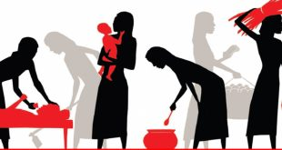 Unpaid care giving hampering female input in labor force