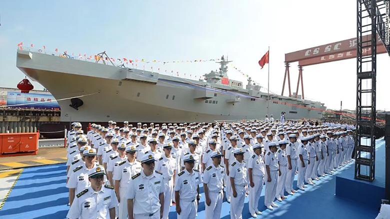 China launches amphibious assault ship, giving a big boost to its coastal warfare capabilities