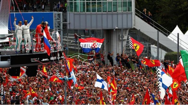Formula 1 secures Italian Grand Prix future until 2024