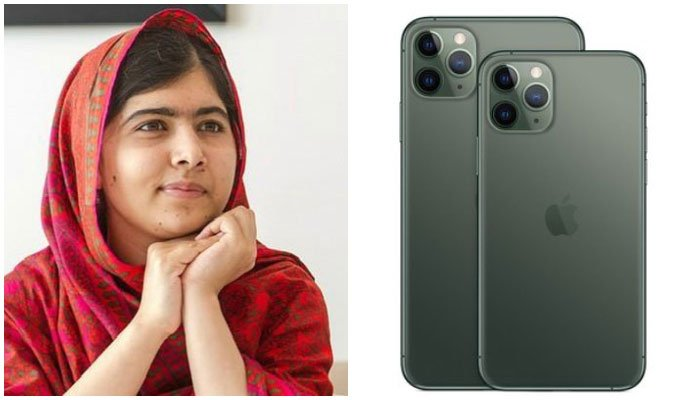Malala wins the internet with her iPhone 11 tweet