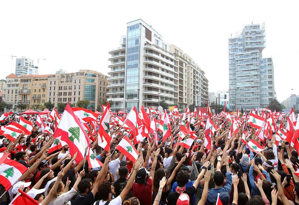 Lebanese keep up protests despite emergency measures
