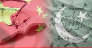 China's initiative to support Pakistani health, education, and training