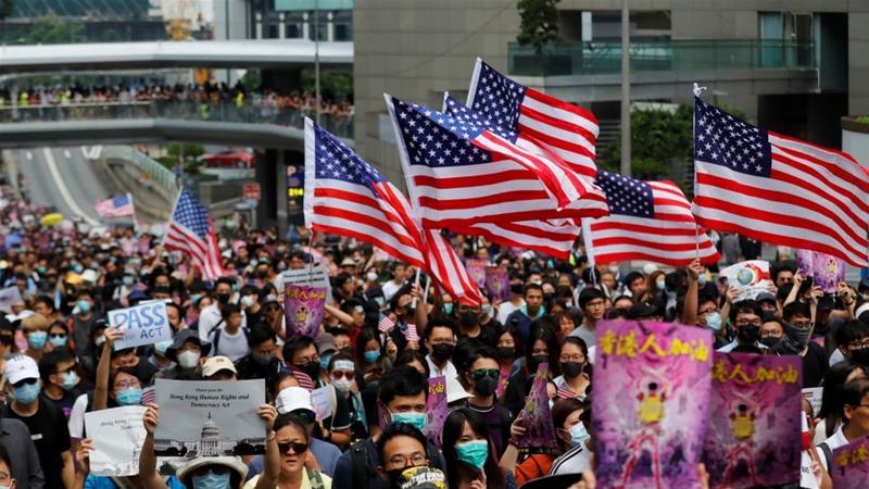 China furious after Trump signs Hong Kong legislation