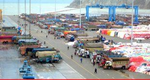 Gwadar Port starts handling transit cargo