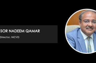 Growth and development at NICVD under the helm of Nadeem Qamar