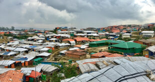 How do you self-isolate in a refugee camp