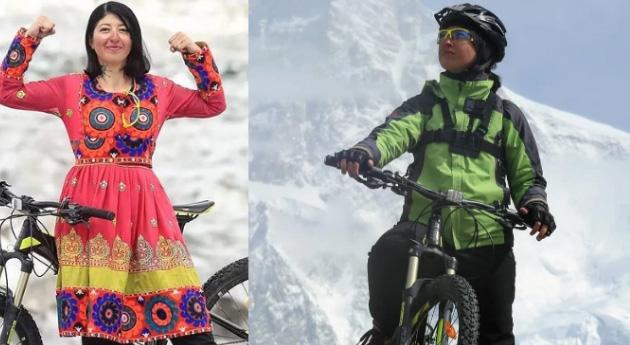 Samar Khan becomes first female cyclist to reach K2 basecamp