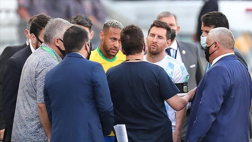 Brazil vs. Argentina suspended amid health concerns